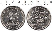 Изображение Монеты Гавайские острова 2 доллара 2008 Медно-никель UNC