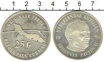Изображение Монеты Антильские острова 25 гульденов 1990 Серебро XF