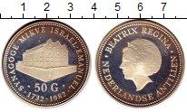 Изображение Монеты Антильские острова 50 гульденов 1982 Серебро Proof-