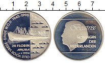 Изображение Монеты Нидерланды Аруба 25 флоринов 1994 Серебро Proof-