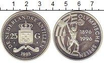 Изображение Монеты Антильские острова 25 гульденов 1995 Серебро Proof- Протекторат  Нидерла