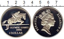 Изображение Монеты Бермудские острова 1 доллар 1996 Серебро Proof