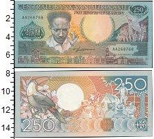 Изображение Банкноты Суринам 250 гульденов 1988  UNC