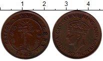 Изображение Монеты Цейлон 1 цент 1942 Бронза XF