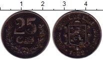 Изображение Монеты Европа Люксембург 25 сантим 1922 Железо XF-
