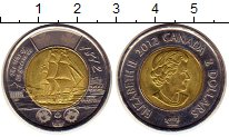 Изображение Монеты Северная Америка Канада 2 доллара 2012 Биметалл UNC-