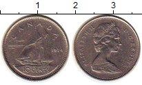 Изображение Монеты Северная Америка Канада 10 центов 1974 Медно-никель XF