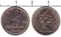 Изображение Монеты Северная Америка Канада 10 центов 1978 Медно-никель XF