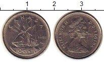 Изображение Монеты Канада 10 центов 1982 Медно-никель XF