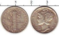 Изображение Монеты США 1 дайм 1943 Серебро XF