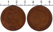 Изображение Монеты Европа Великобритания 1 пенни 1928 Медь VF