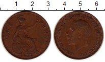 Изображение Монеты Великобритания 1 пенни 1936 Медь VF Георг V