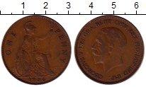 Изображение Монеты Европа Великобритания 1 пенни 1936 Медь XF