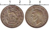 Изображение Монеты Великобритания 1 шиллинг 1942 Серебро XF
