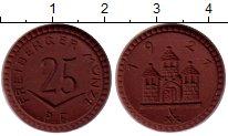 Изображение Монеты Германия : Нотгельды 25 пфеннигов 1921 Фарфор UNC-
