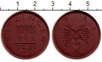 Изображение Монеты Германия : Нотгельды 75 пфеннигов 1921 Фарфор UNC-