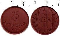 Изображение Монеты Германия : Нотгельды 25 пфеннигов 1921 Фарфор UNC- Амберг