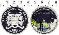 Изображение Монеты Африка Бенин 1000 франков 2013 Серебро UNC