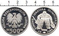 Изображение Монеты Польша 500 злотых 1987 Серебро Proof
