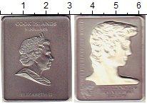 Изображение Монеты Острова Кука 5 долларов 2009 Серебро UNC Микеланджело Буанаро