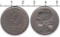 Изображение Монеты Португалия 4 сентаво 1917 Медно-никель XF