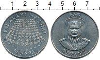 Изображение Монеты Австралия и Океания Тонга 1 паанга 1975 Медно-никель UNC-