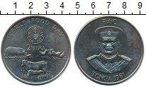 Изображение Монеты Австралия и Океания Тонга 2 паанга 1981 Медно-никель UNC-