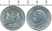 Изображение Монеты Африка Ботсвана 50 центов 1966 Серебро UNC-