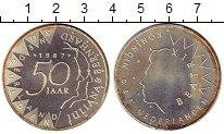 Изображение Монеты Нидерланды 50 гульденов 1987 Серебро Proof-