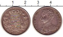 Изображение Монеты Франция 1 франк 1831 Серебро XF+