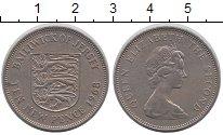 Изображение Монеты Великобритания Остров Джерси 10 пенсов 1968 Медно-никель XF