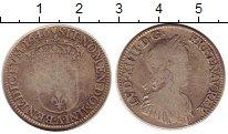 Изображение Монеты Европа Франция 1/4 экю 1646 Серебро VF