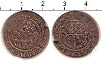 Изображение Монеты Триер 3 альбуса 1708 Серебро VF+