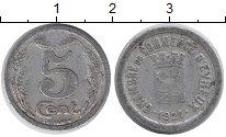 Изображение Монеты Франция 5 сантим 1921 Алюминий XF-