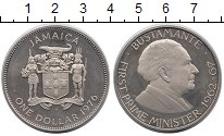 Изображение Монеты Северная Америка Ямайка 1 доллар 1976 Медно-никель UNC-