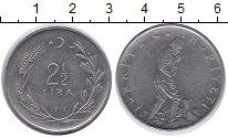 Изображение Монеты Турция 2 1/2 лиры 1976 Железо XF