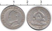 Изображение Монеты Северная Америка Гондурас 20 сентаво 1952 Серебро VF