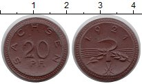 Изображение Монеты Германия : Нотгельды 20 пфеннигов 1921 Фарфор UNC-