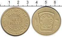 Изображение Монеты Северная Америка США 1 пенни 1973 Латунь XF+