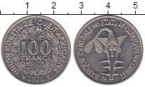 Изображение Монеты Западная Африка 100 франков 1976 Медно-никель XF