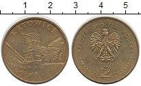Изображение Монеты Европа Польша 2 злотых 2010 Латунь UNC-