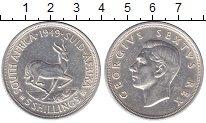 Изображение Монеты Африка ЮАР 5 шиллингов 1949 Серебро XF+