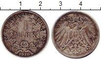 Изображение Монеты Германия 1 марка 1910 Серебро XF-