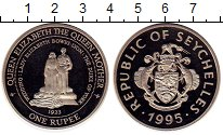 Изображение Монеты Сейшелы 1 рупия 1995 Медно-никель UNC