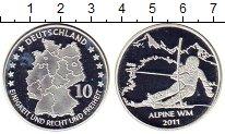 Изображение Монеты Европа Германия Монетовидный жетон 2011 Посеребрение UNC
