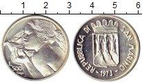 Изображение Монеты Европа Сан-Марино 500 лир 1973 Серебро UNC-