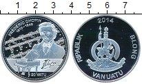 Изображение Монеты Австралия и Океания Вануату 20 вату 2014 Серебро Proof