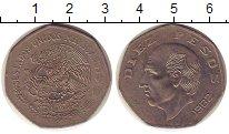 Изображение Монеты Северная Америка Мексика 10 песо 1982 Медно-никель XF