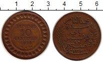 Изображение Монеты Африка Тунис 10 сантим 1912 Бронза XF