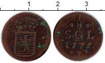 Изображение Монеты Люксембург 1/8 соля 1775 Медь XF